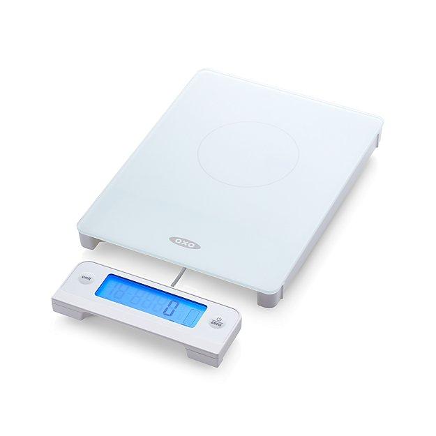 OXO ® 11-lb. Glass Food Scale