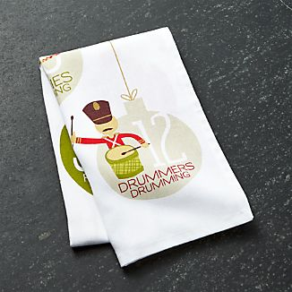 12 Days of Christmas Dish Towel 2016
