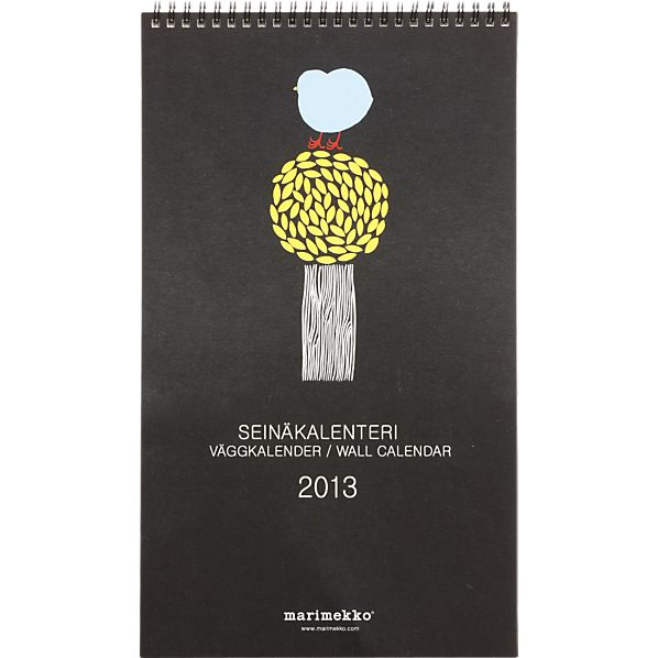 Marimekko 2013 Wall Calendar
