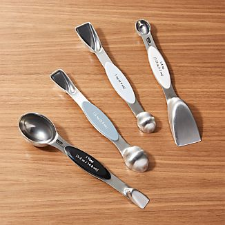 2-in-1 Stainless Steel Magnetic Measuring Spoons