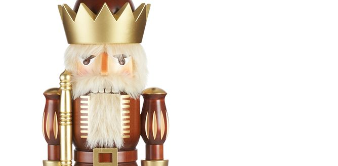 This King Rules. Large and in charge, our King nutcracker stands almost 2 1/2 feet tall. He's made by a single skilled craftsman in Germany and available in a limited edition of 100.