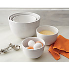 Large White Mixing Bowl In Mixing Bowls Crate And Barrel