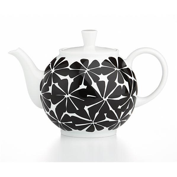 January Teapot by Lourdes Sanchez