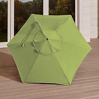 6' Round Sunbrella ® Kiwi  Umbrella Canopy