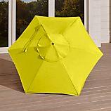 6' Round Sunbrella ® Sulfur Umbrella Canopy