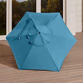 6' Round Sunbrella ® Turkish Tile Umbrella Canopy