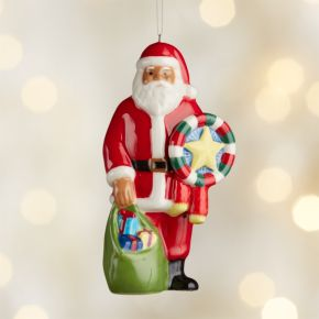 Around the World Philippines Santa Ornament