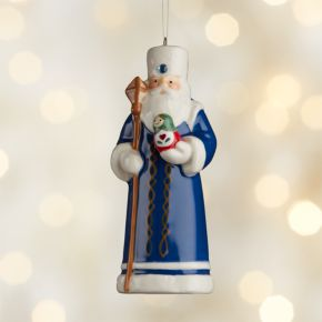 Around the World Russia Santa Ornament