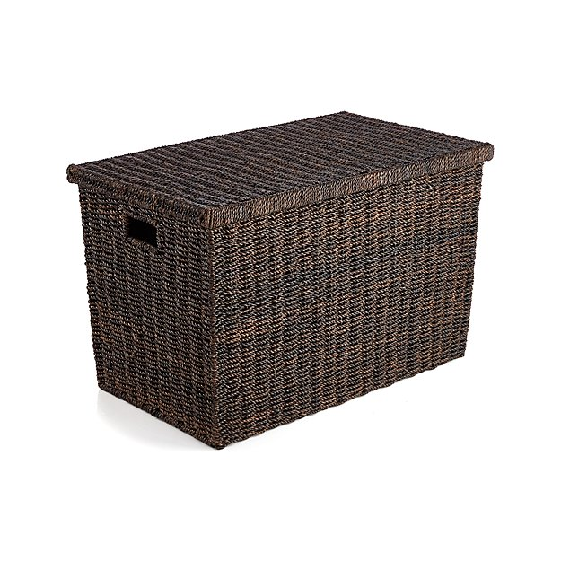 Abaca Wicker Trunk Basket with Lid Large Crate and Barrel : AbacaTrunkLargeF16 from www.crateandbarrel.com size 625 x 625 jpeg 81kB
