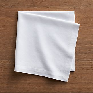 Abode White Cloth Napkin