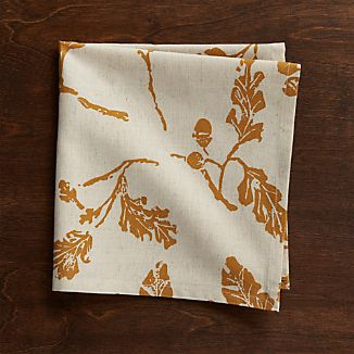 Acorn Cloth Dinner Napkin