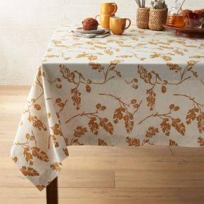 Acorn Tablecloth 60