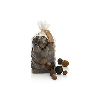 Bag of Large Dried Acorns