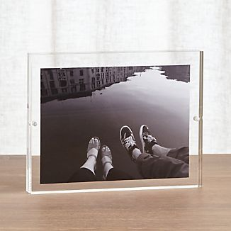 Acrylic 6x8 Block Picture Frame