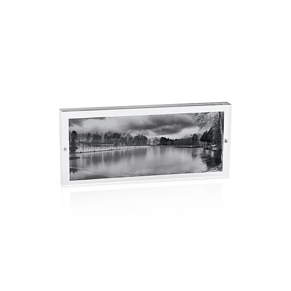 Acrylic 10x4 Panoramic Block Picture Frame