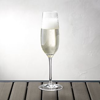 Acrylic Champagne Glass