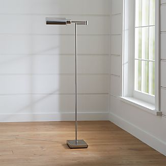 Floor Lamps Swing Arm Tripod Adjustable Crate And Barrel