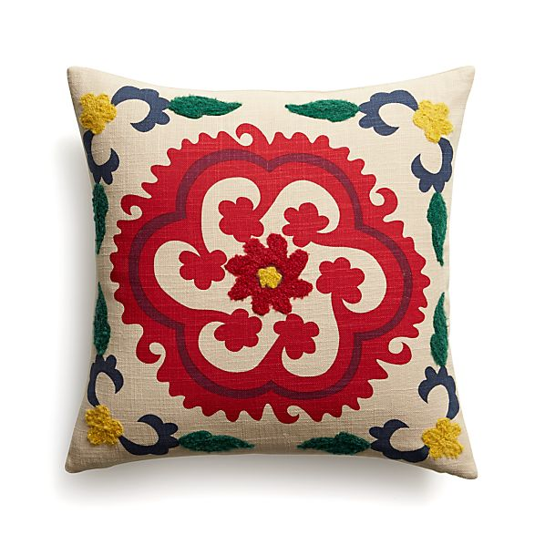 """Adestes 18"""" Pillow with Down-Alternative Insert"""