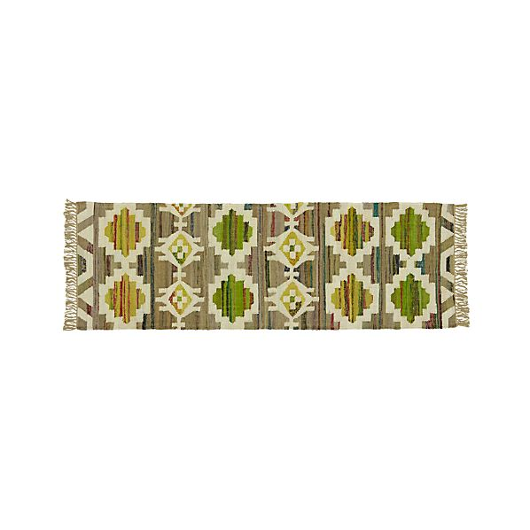 Agra Yellow 2.5'x7' Runner