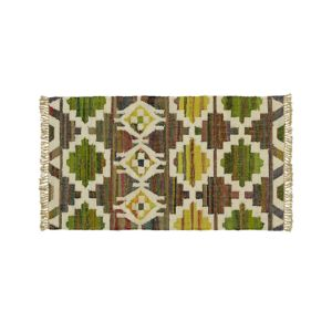Agra Yellow 3'x5' Rug