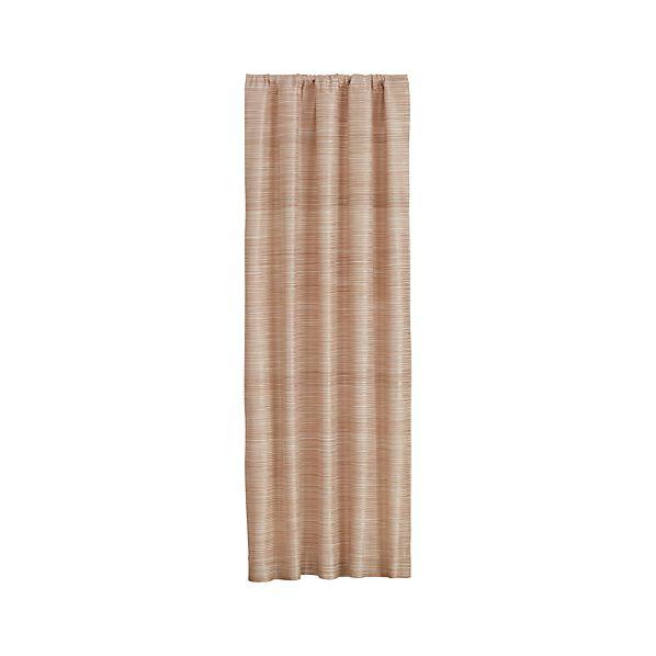 Ainsley Cream 50x84 Curtain Panel