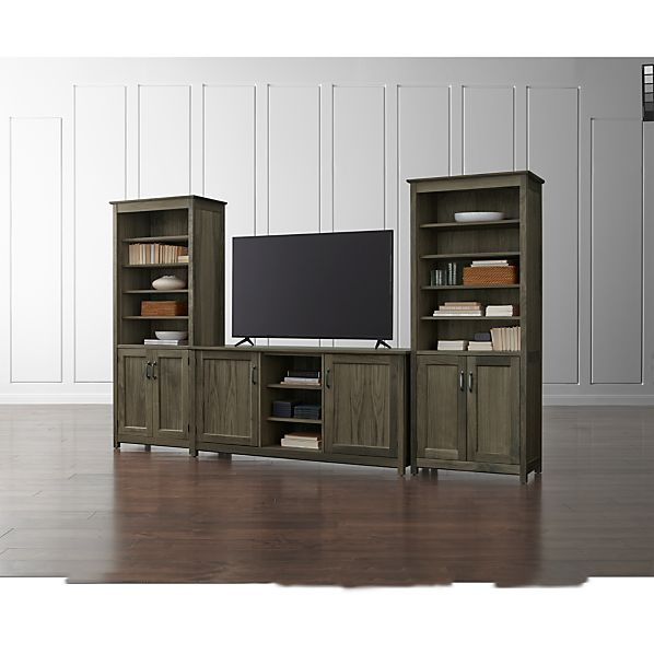 "Ainsworth Walnut 64"" Media Center"