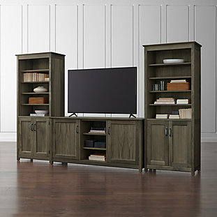 Ainsworth Walnut 64 Quot Media Console Crate And Barrel