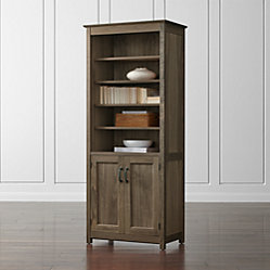 Ainsworth Walnut 64 Quot Media Center And 2 Towers With Glass