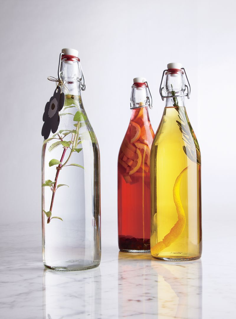 Glass Bottles from Crate & Barrel