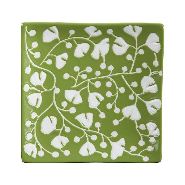 "Akemi Green 7"" Plate"