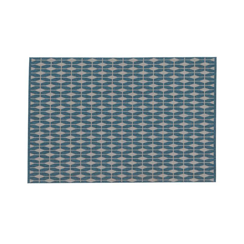 Aldo Blue 6'x9' Rug