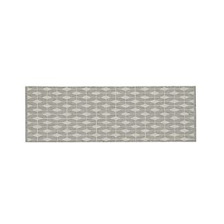 Aldo Dove Grey Indoor-Outdoor 2.5'x8' Rug Runner