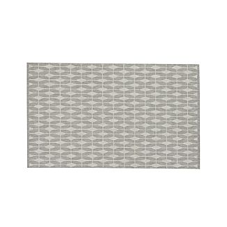 Aldo Dove Grey Indoor-Outdoor 5'x8' Rug