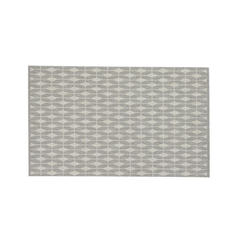 Aldo Dove Grey Indoor-Outdoor 5'x8' Rug
