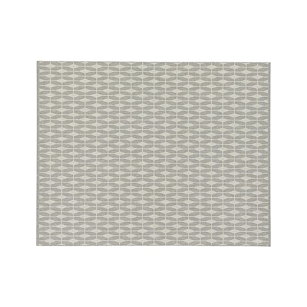 Aldo Dove Grey Indoor Outdoor 8 X10 Rug Crate And Barrel