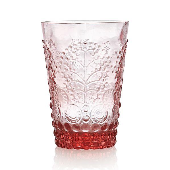 Alegre Rose Beverage Glass