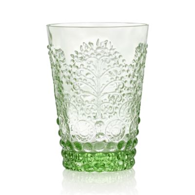 Alegre Verde Beverage Glass