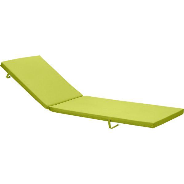 Alfresco Sunbrella ® Apple Chaise Cushion