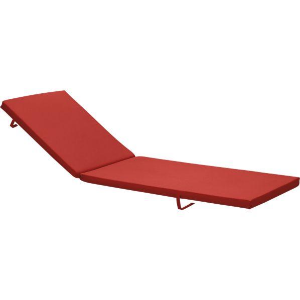 Alfresco Sunbrella ® Caliente Chaise Cushion
