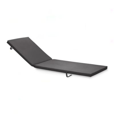 Alfresco Sunbrella® Charcoal Chaise Lounge Cushion