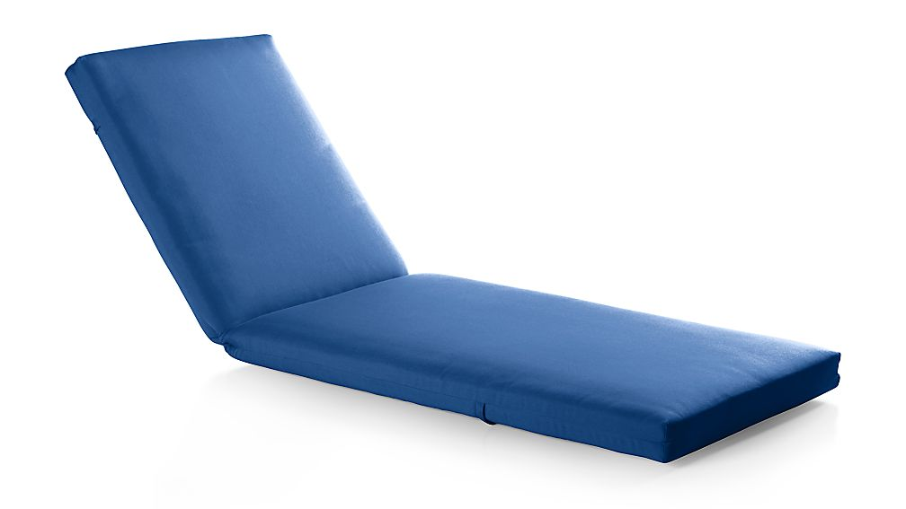 Outdoor chaise lounge cushions blue modern patio outdoor for Aqua chaise lounge cushions