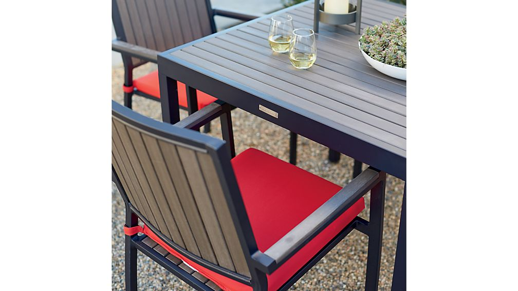 Alfresco Grey Café Table