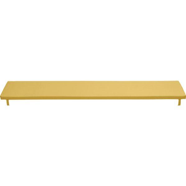 Alfresco Sunbrella ® Daffodil Dining Bench Cushion