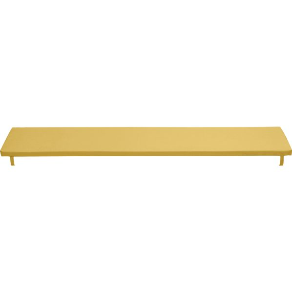 Alfresco Sunbrella ® Daffodil Dining Bench Cushion