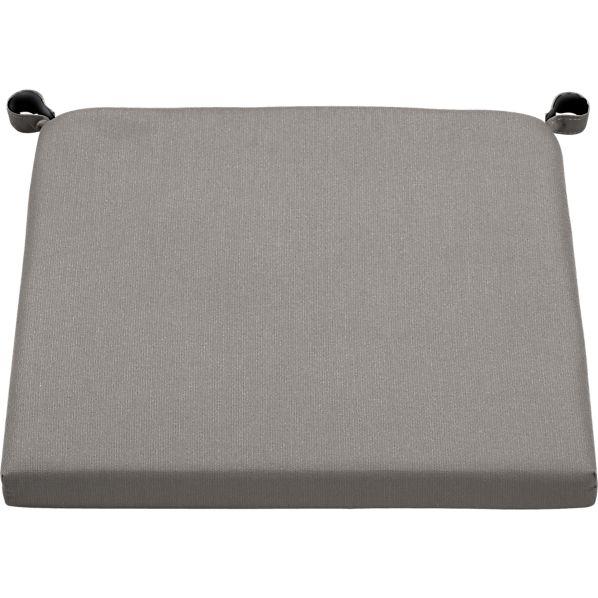 Alfresco Sunbrella ® Graphite Chair-Barstool Cushion