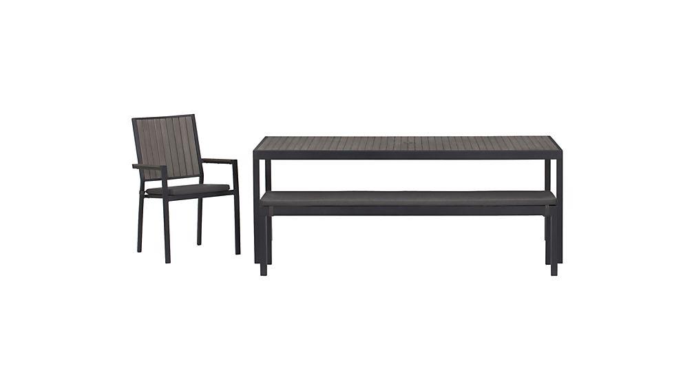 Alfresco Sunbrella ® Dining Bench Cushion