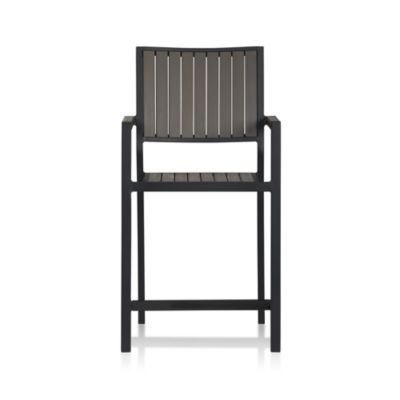 Alfresco Grey Barstool