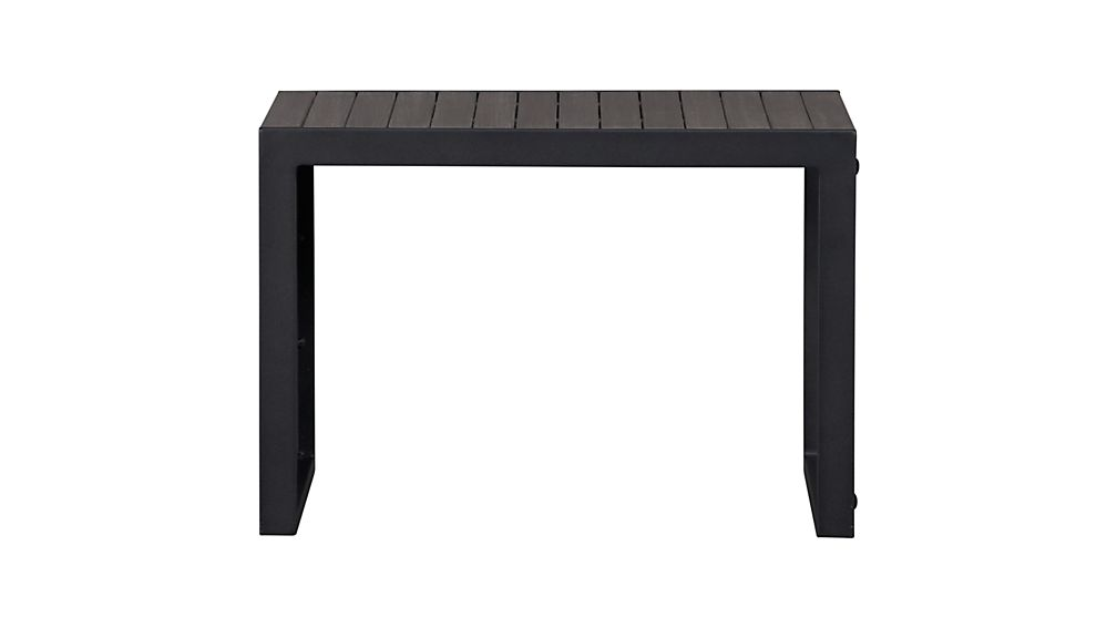 Alfresco Grey Side Table-Stool