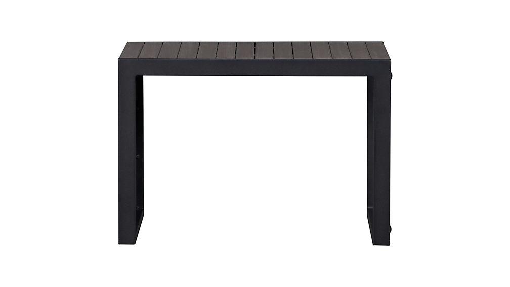 Alfresco Grey Side Table-Stool