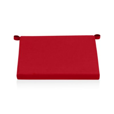 Alfresco Sunbrella® Red Ribbon Lounge Chair Cushion